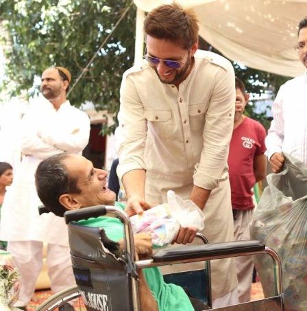 shahid afridi philanthropy